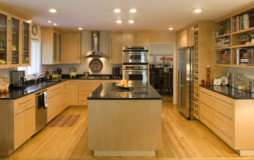 Modern Custom Kitchen Design - Mike Maher home builder